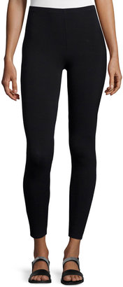 Eileen Fisher Petite Viscose Jersey Leggings