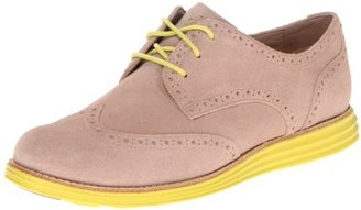 Cole Haan Women's LunarGrand Wing Tip Lace-Up