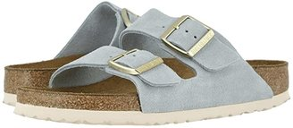 Birkenstock Arizona Soft Footbed (Earth Red Suede) Women's Sandals
