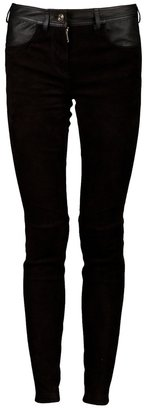 Givenchy two tone skinny trouser
