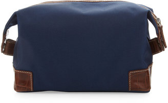 Neiman Marcus Men's Toiletry Travel Bag, Navy