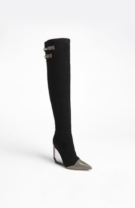 Pollini Wedge Over the Knee Boot