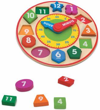 Melissa & Doug Kids Toy, Shape-Sorting Clock