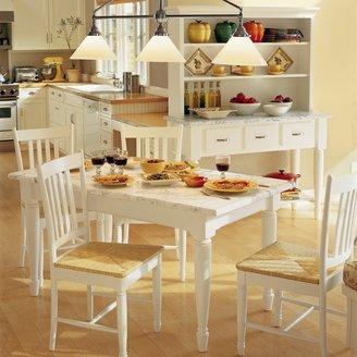 Williams-Sonoma Carrara Marble Dining Table