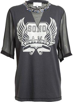 3.1 Phillip Lim Sono Mama Embellished T-Shirt