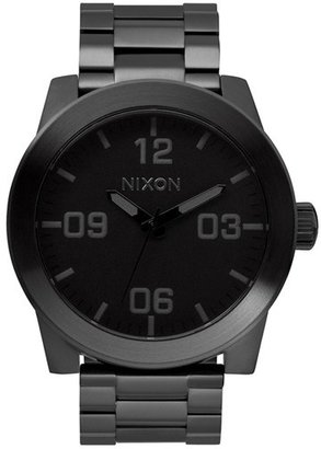 Men's Nixon 'The Corporal' Bracelet Watch, 48Mm $200 thestylecure.com