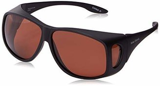 Foster Grant Haven Fitover Sunglasses Biscayne (MED) in Tortoise and Polarized Amber Lens