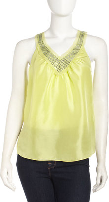 Rebecca Taylor Party Top, Limeaid