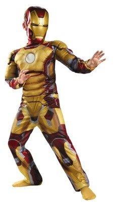 Iron Man Boy's Mark 42 Classic Muscle Costume
