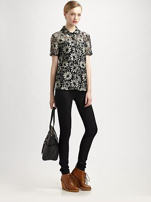 Marc by Marc Jacobs Lily Lace Shirt