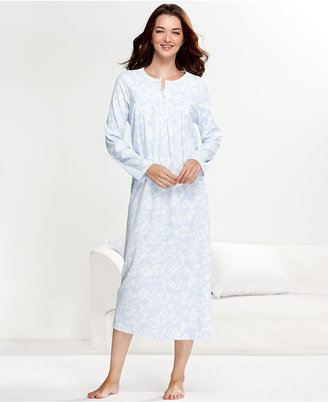 Charter Club Nightgown, Brushed Knit Long Nightgown