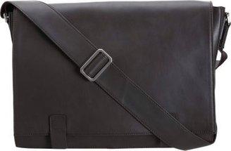 Barneys New York Sleek Messenger Bag