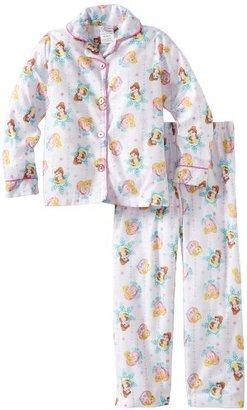 Komar Kids Girls 2-6X Holiday To Remember Long Sleeve Disney 2 Piece Pajama Set