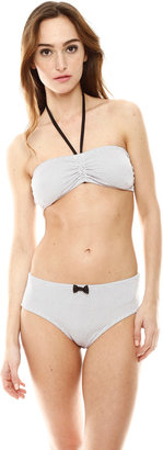 Koo-J Kooj Risa Ruched Bikini Top
