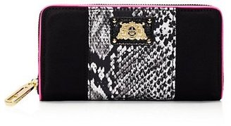 Juicy Couture Penny Nylon Continental Wallet