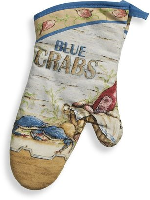 Bed Bath & Beyond Blue Crabs Oven Mitt