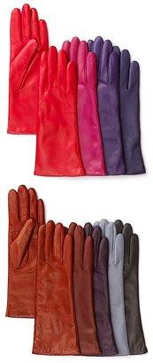 Portolano Four Button Leather Gloves