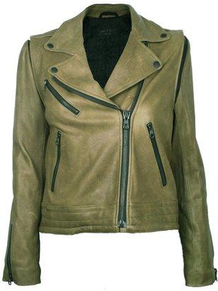 Rag and Bone Rag & Bone Bowery Moss Leather Jacket
