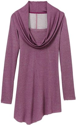 Pink Lotus Cowl Neck Tunic