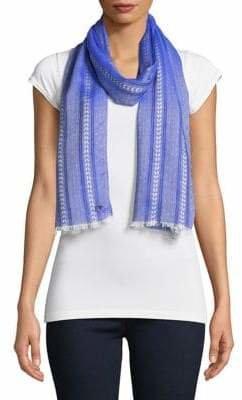 Calvin Klein Yarn Dye Chambray Scarf