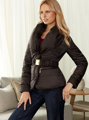 Victoria's Secret Zip-front puffer jacket
