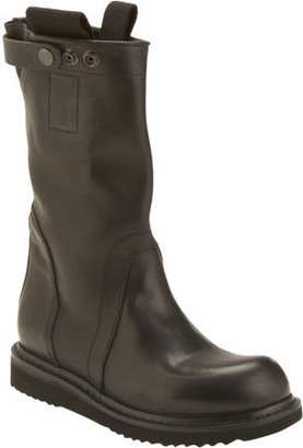 Rick Owens Pull-On Wedge Knee Boot