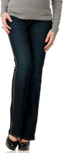 A Pea in the Pod Silver Jeans Secret Fit Belly® 5 Pocket Boot Cut Maternity Jeans