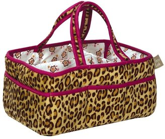Trend Lab berry leopard storage caddy
