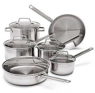 JCPenney jcp EverydayTM 11-pc. Stainless Steel Cookware Set