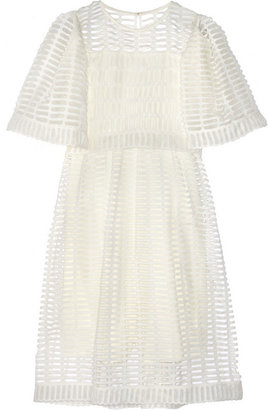 Chloé Ada cotton-macramé dress