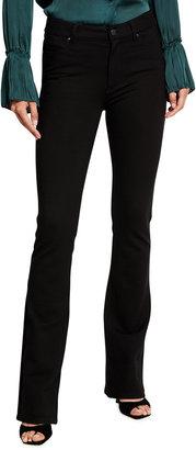 Paige Manhattan High-Rise Ponte Boot-Cut Jeans