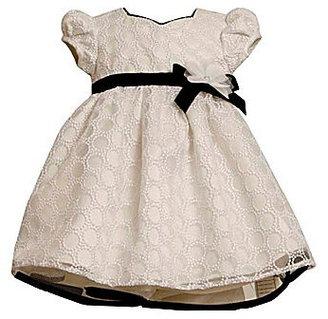 Bonnie Jean 2T-6X Embroidered Circles Dress