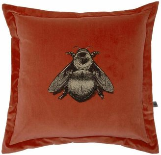 Timorous Beasties Napoleon Bee Cotton Velvet Cushion