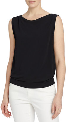 Lafayette 148 New York Rossi Midweight Matte Jersey Top