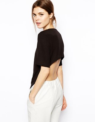 Asos Top with High Back in Ponti