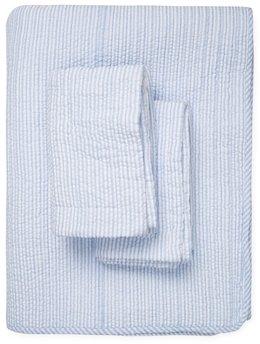 Yarn-Dyed Seersucker Quilt Set