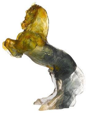 "Daum Balthazar"" Horse Sculpture"