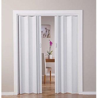 White Oak Effect Folding Double Door