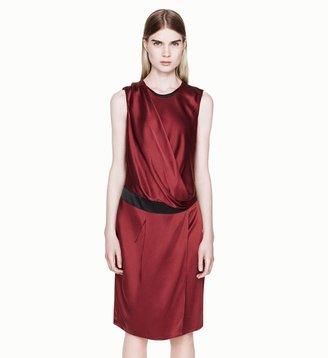 Helmut Lang Quantum Drop Overlap Dress