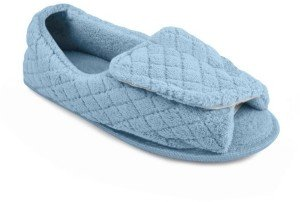 Muk Luks Micro Chenille Open Toe Slippers