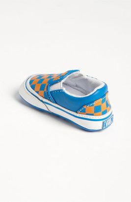 Vans 'Classic - Checker' Crib Shoe (Infant)