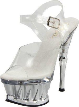 Pleaser USA Women's Spiky-608/C/S Platform Sandal