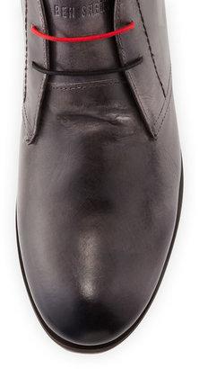 Ben Sherman Abe Leather Desert Boot, Gray