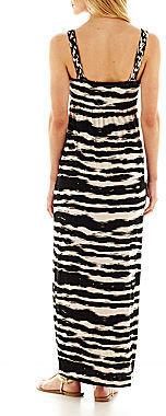 JCPenney a.n.a Braided Halter Maxi Dress - Tall