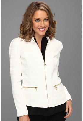 Calvin Klein Textured Jacket (Soft White) - Apparel