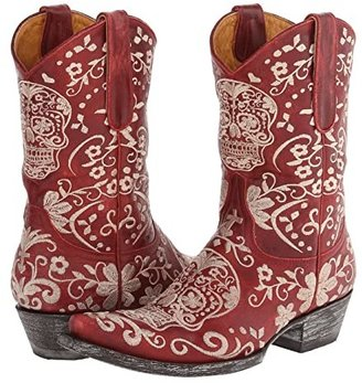 Old Gringo Klak (Red/Bone) Cowboy Boots
