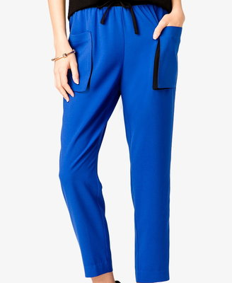 Forever 21 Colorblocked Woven Joggers