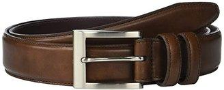 Allen Edmonds Wide Basic Dress Belt (Coffee) Men's Belts
