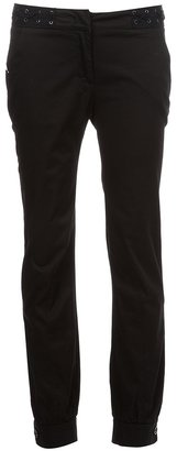 McQ by Alexander McQueen Lace detail trouser