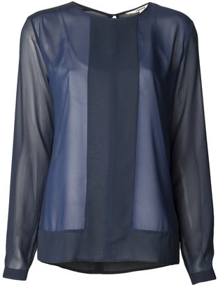 J Brand sheer blouse